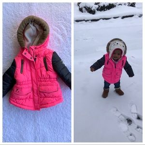 🎄 OshKosh Baby Girl Coat